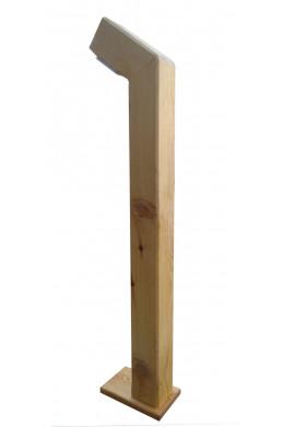 Садовый светильник столб