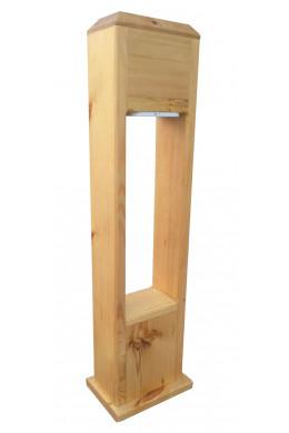 Cадовый фонарь из дерева