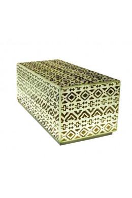 Скамейка куб светящийся с рисунком