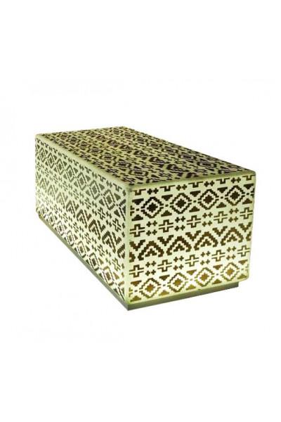 Скамейка куб светящаяся