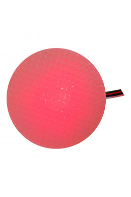 Круглый светильник 8 х 5 красный