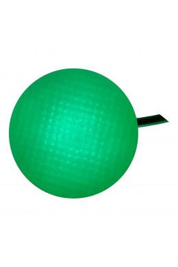 Круглый светильник 10 х 5 зеленый