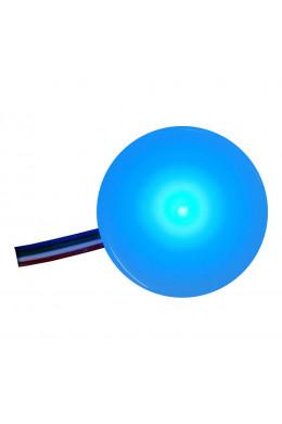 Круглый светильник 5 х 5 синий