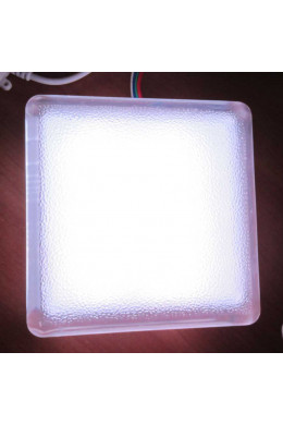 Светильник тротуарный, брусчатка светодиодная 100x100x60mm