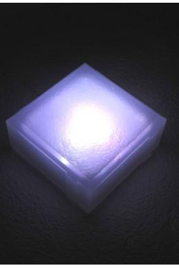 Светильник тротуарный 100х100х40 белый