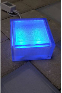 Тротуарная брусчатка 100х100х60 синяя