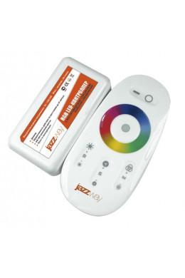 Контроллер RGB PRC-4000RF BL 12/24V 216/432Вт