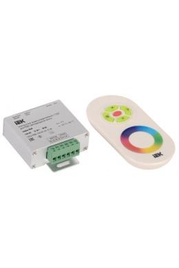 Контроллер RGB с ПДУ радио 3 канала 144w 12v 4A
