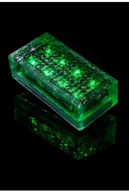 Плитка на солнечных батареях зеленая