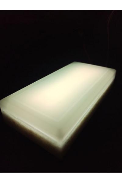 Брусчатка светодиодная белая