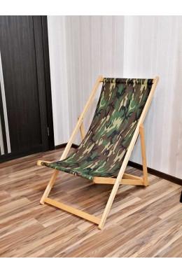 Кресло шезлонг складное