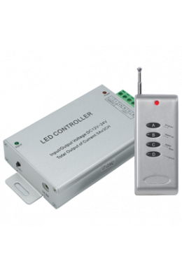 Ecola LED strip RGB RF controller 15A 180W 12V (360W 24V) с радиопультом управления